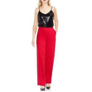 NWT Vince Camuto Wide Leg Dress Pants True Crimson